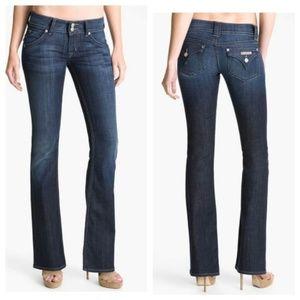Hudson Signature Bootcut Dark Wash Jeans Size 30